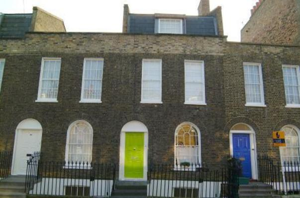 Islington: early Vctorian terrace of the 1820s