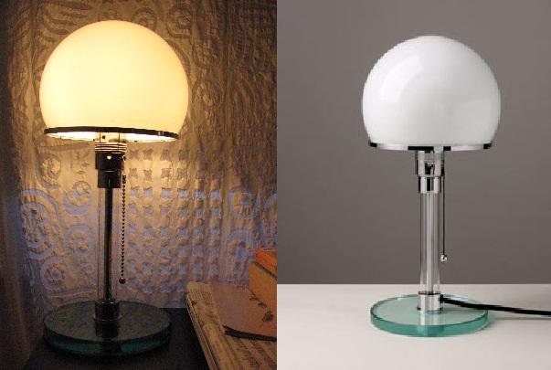 The Bauhaus Jucker-Wagenfeld lamp, 1924