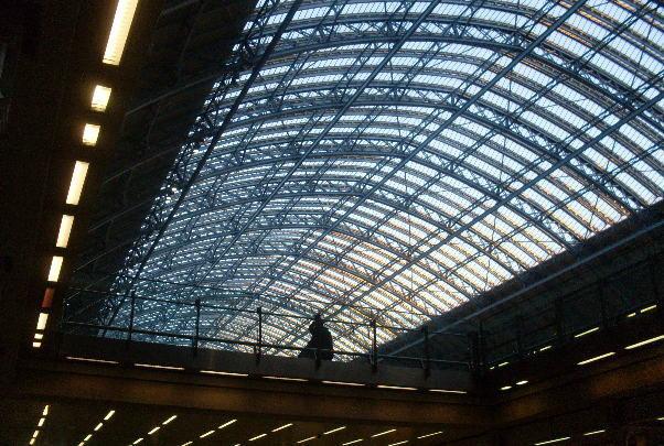 Saint Pancras Station, London, 2011