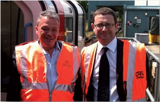 Ian Prosser, Safety Director, and Richard Price, Chief Executive, Office of Rail Regulation